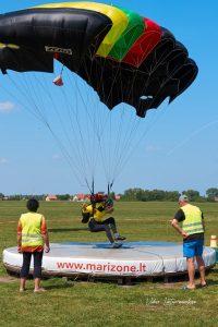 Atviras XXIX Lietuvos parašiutų sporto tikslaus nusileidimo čempionatas