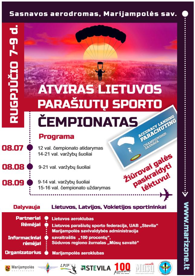 Atviras Lietuvos parašiutų sporto tikslaus nusileidimo čempionatas